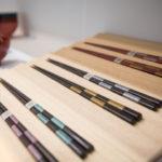 細身市松箸 Chopstick