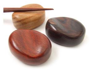 木製箸置・珠