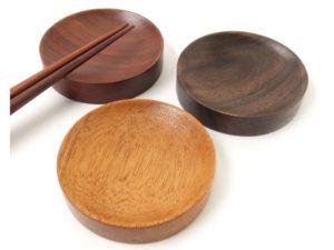 木製箸置・丸