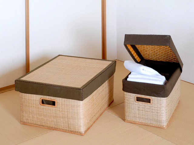 竹収納ボックス